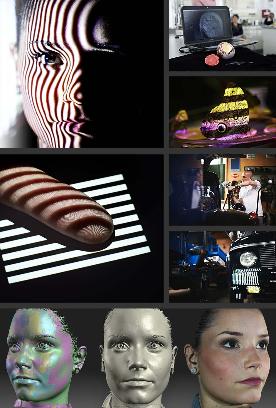 david-3d-scanner-applications