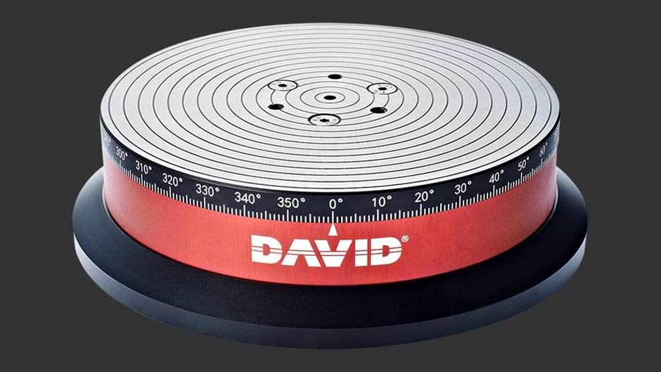 david 3d scanner turntable