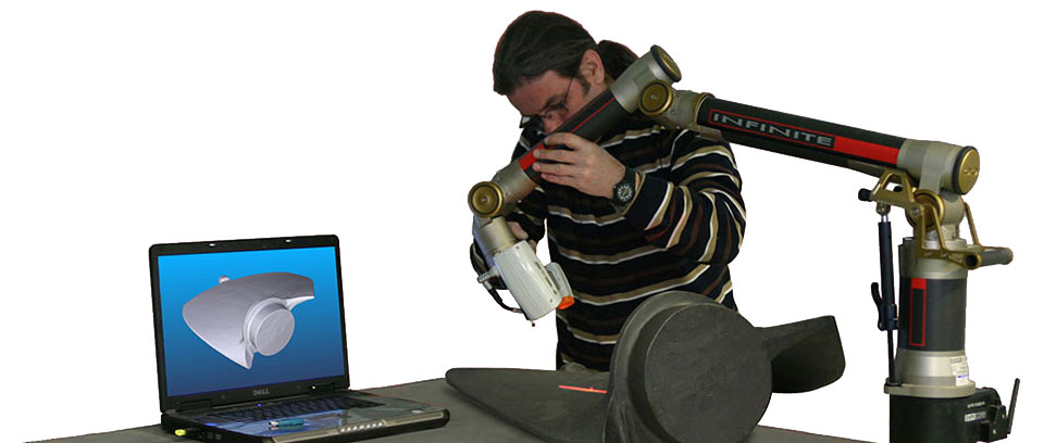 3d laser scan services for 3d inspection