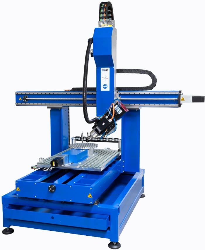 High speed CNC machine with optional 5 axis