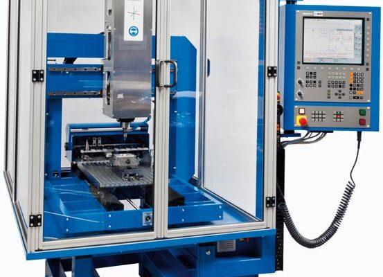CNC Machine with housing and controller