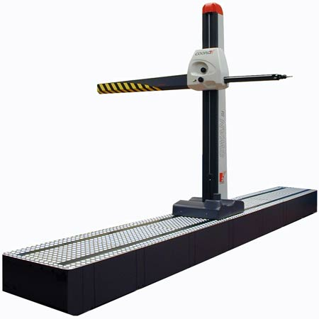 horizontal-arm-cmm-machine rail mounted runway