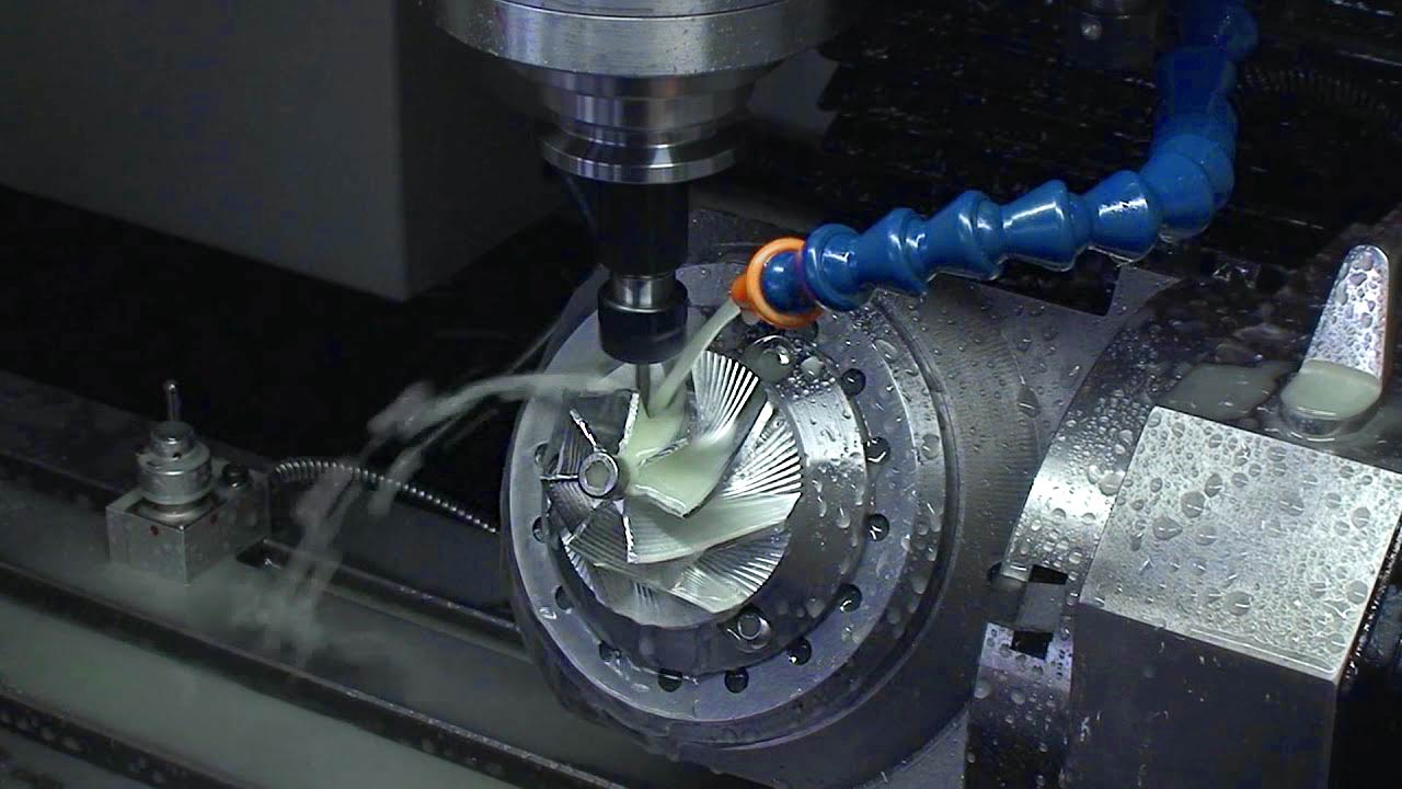 VMC 5 Axis machine video thumbnail