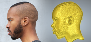 3d face wizard convert 2d image to 3d