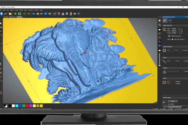 elephant-relief-high-z-carveco-maker-3d-design-software