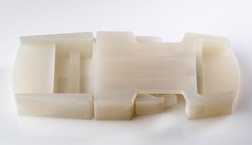 simulated polypropylene 3d printed materials